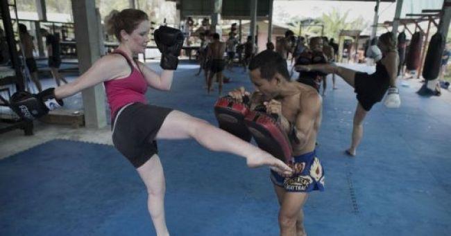Boxe thai pour perdre du poids